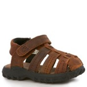 Toddler Boy Leather Fisherman Sandals