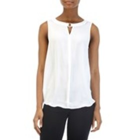 SAMI AND JO Sleeveless Split Back Top with O-Ring