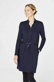 Fit At Ease Tie-Waist Dress