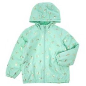 Girls Mermaid Print Hooded Lightweight Jacket (4-6