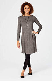 Wearever Shirred-Waist Dress