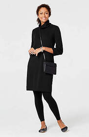 Easy Turtleneck Sweater Dress