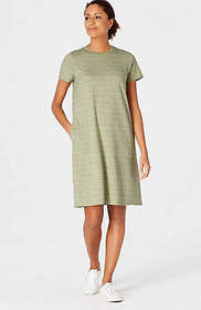 Pure Jill Knit A-Line Dress
