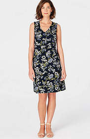 Wearever Printed Piped Dress