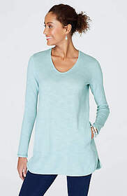 Pure Jill Easy Tie-Back Sweater Tunic