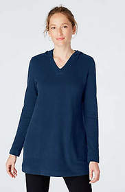 Pure Jill Soft-Touch Cotton Hooded Tunic