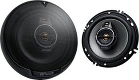 """Kenwood - 6-1/2"""" 3-Way Car Speakers with Polypropy"""
