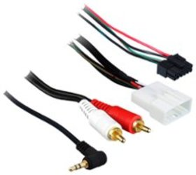 Metra - Turbo Wire SWC Harness with RCAs for Most