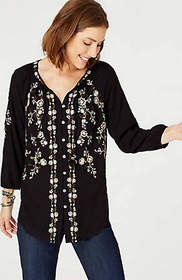 Soft & Light Embroidered Top