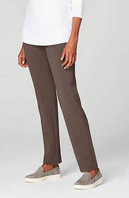 Pure Jill Smooth-Waist Slim-Leg Pants