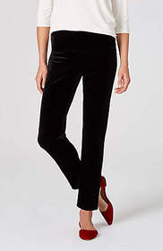 Wearever Smooth-Fit Slim Ankle Velvet Pants