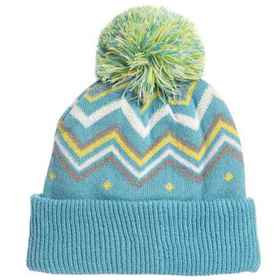 Cirque Printed Pom Hat (For Little Kids) in Light
