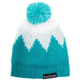 Boulder Gear Trickle Beanie (For Kids) in Blue Jew