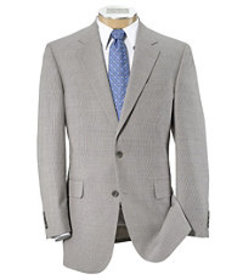 Jos Bank Tropical Blend Tailored Fit 2-Button Suit