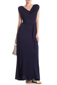 THREADS AND STATES Cowl Neck Maxi Dress