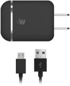 Just Wireless - Micro USB Wall Charger - Black
