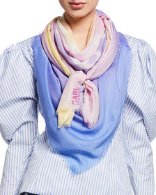 Karl Lagerfeld Sun Bleached Ombre Scarf