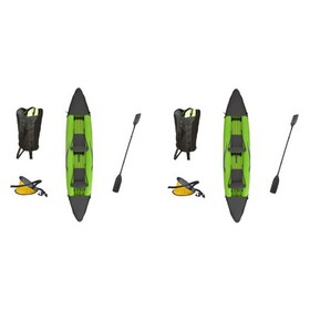 Outdoor Tuff Stinger Iv Inflatable 2 Person Kayak