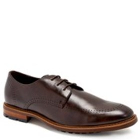 Mens Perforated Derby Shoes