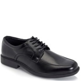 Mens Wide Width Run Off Oxford Dress Shoes