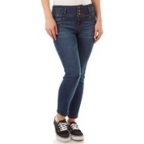 D JEANS High Waisted Ankle Skinny Jeans