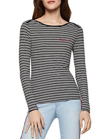 BCBGENERATION - Daydreamin Striped Knit Top