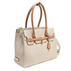 Adrienne Vittadini Kelly Satchel with Detachable S