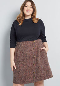 ModCloth ModCloth Partners in Poise Twofer Dress N