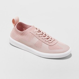 Women's Mad Love Jaycie Sneakers Lace up Knit Shoe