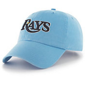 '47 Men's Tampa Bay Rays Clean Up Blue Adjustable