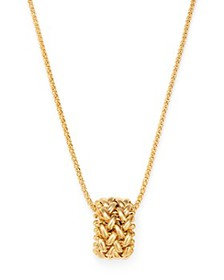 Bloomingdale's - 14K Yellow Gold Tessere Ring Pend
