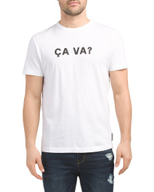 FRENCH CONNECTION Ca Va Tee