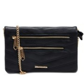 RAMPAGE Quilted Chain Strap Convertible Crossbody