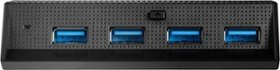Insignia™ - 4-Port High Speed USB Hub for PS4 Pro