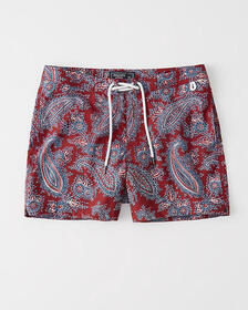 A&F Archive Collection Classic Trunks, NAVY BLUE P