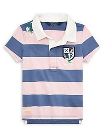 Ralph Lauren Childrenswear Little Girl's Embroider