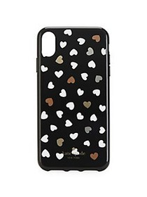 Kate Spade New York Heart iPhone X Plus Case BLACK