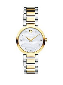Movado Modern Classic Mother-of-Pearl and Stainles