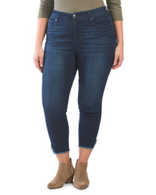 SEVEN7 Plus High Rise Skinny Jeans