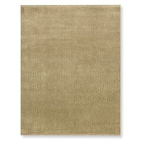 Geo Moon Hand Knotted Rug, Neutral