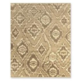 River Ikat Hand Knotted Rug, Neutral