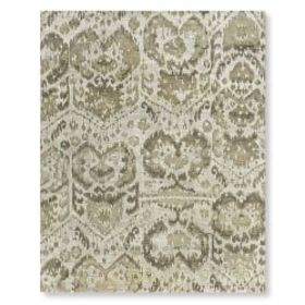 Burnished Ikat Hand Knotted Rug