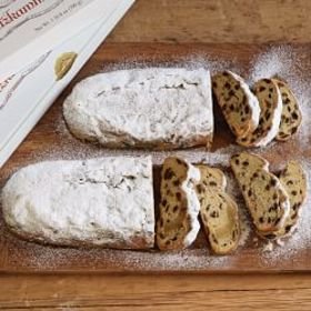 Dresden Stollen with Marzipan