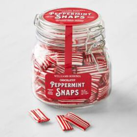 Williams Sonoma Chocolate-Filled Peppermint Snaps