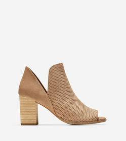 Cole Haan Shiloh Open Toe Bootie (75MM)