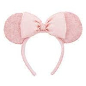 Disney Minnie Mouse Sequined Ear Headband - Pink