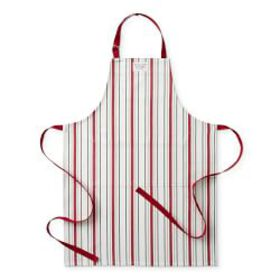 Holiday Striped Adult Apron