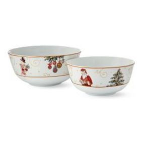 'Twas the Night Before Christmas Mixing Bowls, Set