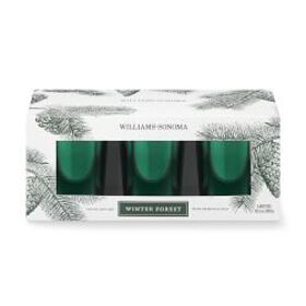 Williams Sonoma Winter Forest Votive Candles