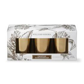 Williams Sonoma Frosted Gingerbread Votive Candle